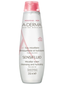 Micellar water, 250 ml A-DERMA