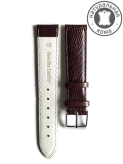 18 mm calfskin leather watchband D&A.