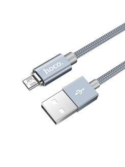 Кабель microUSB - USB U40A Magnetic Adsorption Hoco