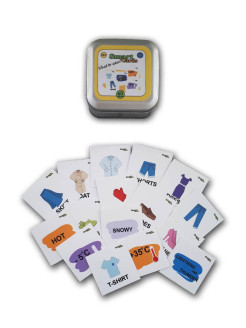 Игра на английском Smart cards. What to wear? Lingua Games