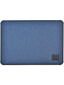 Чехол Uniq для Macbook Pro 13 (2016/2018) DFender Sleeve Kanvas Blue UNIQ