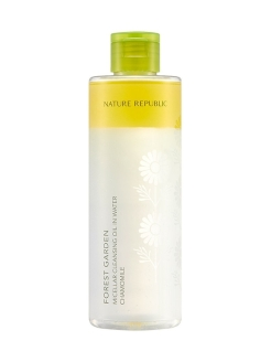 Мицеллярная вода с экстрактом ромашки FOREST GARDEN MICELLAR CLEANSING OIL IN WATER CHAMOMILE NATURE REPUBLIC
