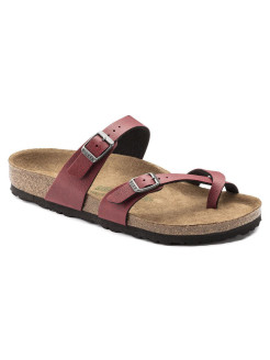Биркенштоки Mayari BF Pull Up Bordeaux VEG2 Regular BIRKENSTOCK