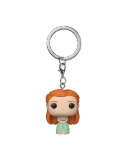 Брелок Funko Pocket POP! Keychain: Harry Potter: Ginny (Yule) 42258-PDQ Funko