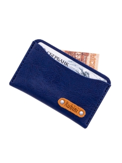 Credit card holder for 5 cards, card holder. Made in Russia. Rubini