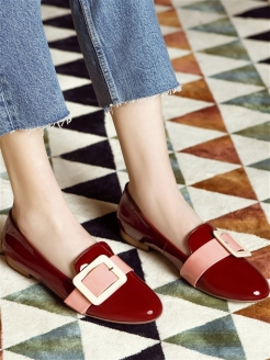 Слиперы BORDO SUNSET RABBIT LOAFERS