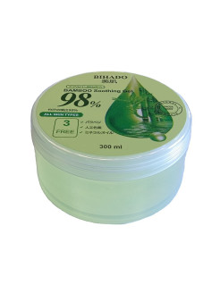 Bamboo soothing gel  увлажняющий гель для лица и тела, с экстрактом бамбука BIHADO