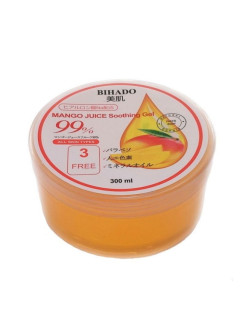 Mango juice soothing gel увлажняющий гель для лица и тела, с соком манго BIHADO