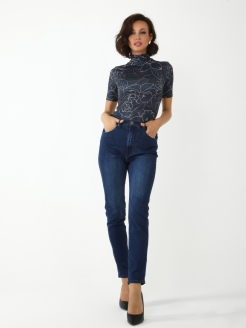 Jeans, scuff effect, moma A-A Awesome Apparel by Ksenia Avakyan