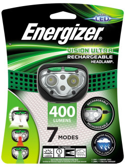 Фонарь Vision Ultra Rechargeable Headlight Energizer