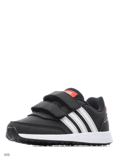 Кроссовки VS SWITCH 2 CMF C   CBLACK/FTWWHT/ACTRED adidas