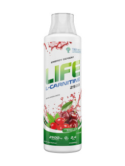 Life L-Carnitine 2500 Cherry and Rosehip 500 ml Tree of Life