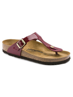 Пантолеты Gizeh BF Magic Snake Bordeaux Regular BIRKENSTOCK
