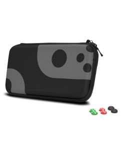 Nintendo Switch Set: Case and Cover for Switch Console (black-gray) (SL-330200-BKGY) Speedlink