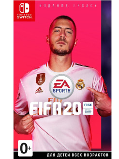 Fifa 20 Legacy Edition [Nintendo Switch, русская версия] Electronic Arts