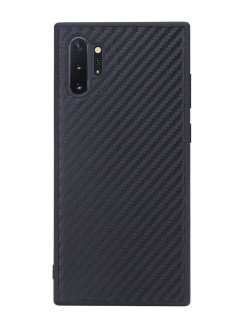 Накладка G-Case Carbon для Samsung Galaxy Note 10+, черная G-Case