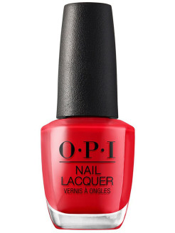 Лак для ногтей NLU13 Red Heads Ahead OPI