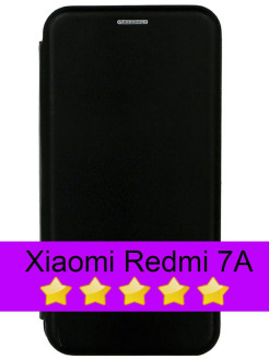 Book Cover for Xiaomi Redmi 7A with Magnet and Card Slot FINITY