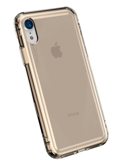 Чехол Baseus Safety Airbags Case For iPhone XR 6.1 inch Transparent Gold BASEUS