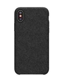 Чехол Baseus Original Super Fiber for iPhone X/Xs Black BASEUS