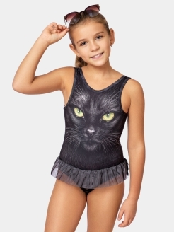 Swimsuit Black Cat BabyМотики