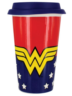 Кружка Wonder Woman Travel Mug PP4108DC Paladone