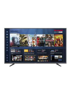 "Телевизор LC55UI7252E, 55"", UHD, Smart TV, Wi-Fi, DVB-T2/S2 Sharp"