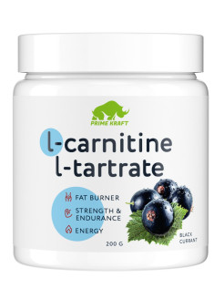 L-Carnitine L-Tartrate, ЧЁРНАЯ СМОРОДИНА, 200 гр Prime Kraft