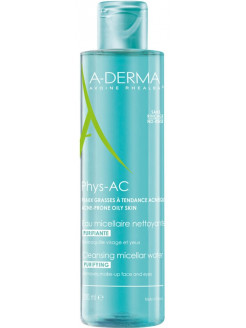 Micellar water, 200 ml A-DERMA