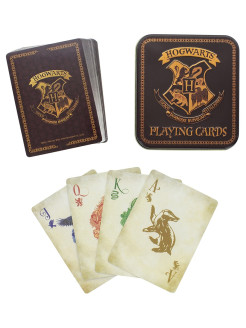 Карты сувенирные Hogwarts Playing Cards V2 (CDU 12) PP4258HPV2 Paladone