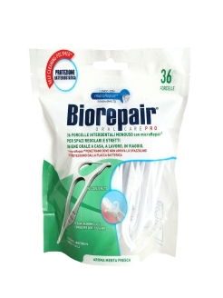 Нить с держателем Forcelle Interdenrale Monouso, 36шт BIOREPAIR