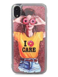 Чехол - case iPhone XR Life style Fooxy