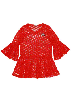 "Tunic beach from a grid ""Lips in pastes"" NOBLE PEOPLE"