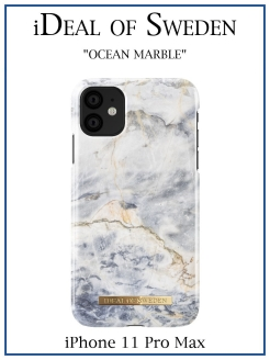 IDeal of Sweden Case for iPhone 11 Pro Max Ocean Marble (IDFCA16-I1965-47) IDEAL