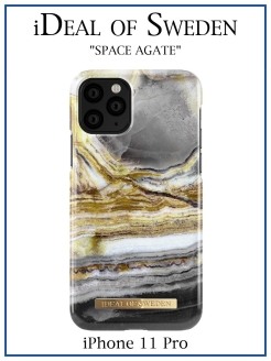 IDeal of Sweden Case for iPhone 11 Pro Outer Space Agate (IDFCAW18-I1958-99) IDEAL