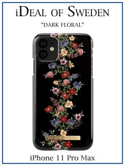 IDeal of Sweden Case for iPhone 11 Pro Max Dark Floral (IDFCAW18-I1965-97) IDEAL