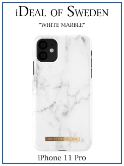 IDeal of Sweden Case for iPhone 11 Pro White Marble (IDFC-I1958-22) IDEAL
