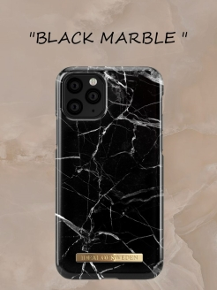 IDeal of Sweden Case for iPhone 11 Pro Max Black Marble (IDFC-I1965-21) IDEAL