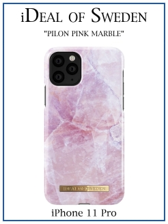IDeal of Sweden Case for iPhone 11 Pro Pilion Pink Marble (IDFCS17-I1958-52) IDEAL