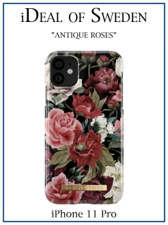 IDeal of Sweden Case for iPhone 11 Pro Antique Roses (IDFCS17-I1958-63) IDEAL