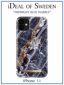 IDeal of Sweden Case for iPhone 11 Midnight Blue Marb (IDFCS17-I1961-66) IDEAL