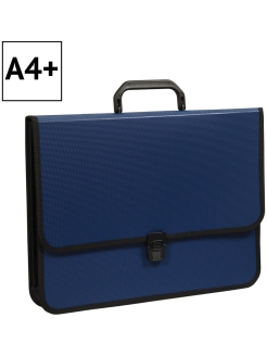 Briefcase folder 2 compartments, A4 + Office space