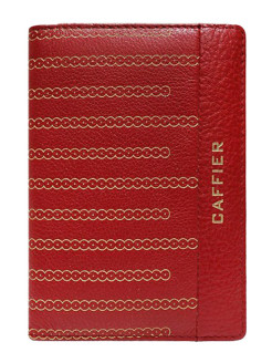 Cover, for passport Caffier