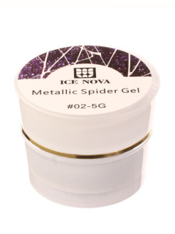 Гель лаки Spider gel 02 ICE NOVA
