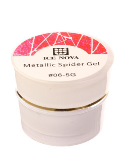 Гель лаки Spider gel 06 ICE NOVA