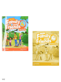 Family and Friends (2nd edition) 4 Oxford Press