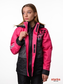 Raincoat, moisture resistance, waterproof buckle, membrane tissue STARKS