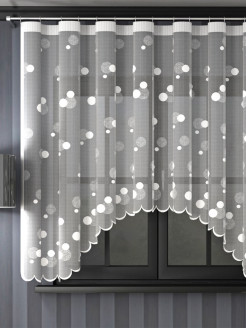 Interior curtains, curtains on the curtain tape ЛЕНТА
