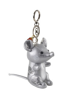 Keychain Wish Mouse White Moose