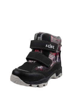 Winter boots for the boy Ski Station black REIKE